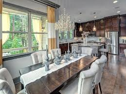 Traditional Dining Room by Traditional Dining Room With High Ceiling U0026 Chandelier Zillow