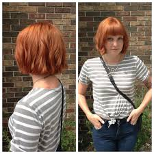 julianne hough shattered hair shattered bob hair cut with natural red inspired copper red hair