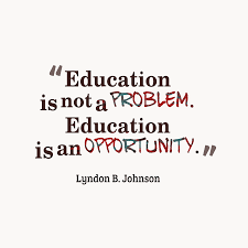 quotes about education and kindness education is not a problem education is an opportunity