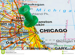 L Map Chicago by Chicago Map Royalty Free Stock Photography Image 21017477
