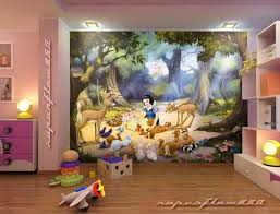 Disney Bedroom Decorations Impressive Disney Bedroom Decorations Disney Princess Wall Mural