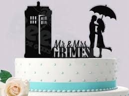 dr who cake topper dr who cake topper it s raining tardis personalized 2440415