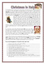 english teaching worksheets italy