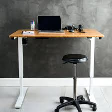 Standing Up Desk Ikea by Desk Adjustable Standing Desk Ikea Australia Rise Up Bamboo
