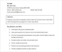 resume food service skills resume objective food service best restaurantbar general manager