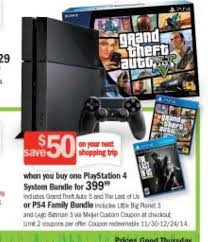 black friday ps4 bundle 2017 black friday ad shows ps4 bundle for grand theft auto 5 gamer