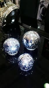 light blue decorative balls led set of 3 decorative balls only monarch home interiors