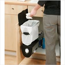 simplehuman in cabinet trash can under cabinet waste bins after using the simplehuman trash system
