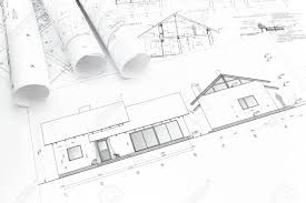 construction plans architectural blueprints of new home and construction plans rolls