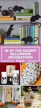 decorations for the home 50 easy decorations spooky home decor ideas for