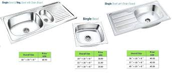 stainless steel kitchen sink sizes stainless steel kitchen sink sizes click to view full size photo