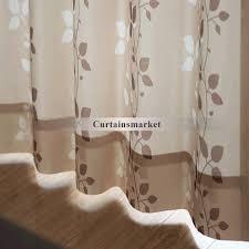 Leaf Pattern Curtains Leaf Pattern Fresh Modern Panel Curtains