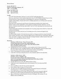 best solutions of sap support project manager resume for sap