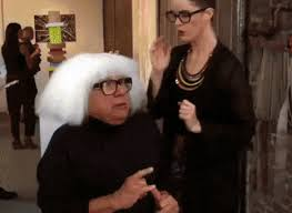 Exactly Gif Gif Of The Day Danny Devito Is Essentially Afc At An Art Fair