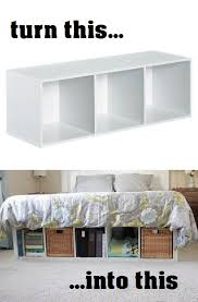 Build Platform Bed Storage Under by Diy Platform Bed 5 You Can Make Bed Storage Dresser And Target