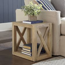 Build Wooden End Table by Here U0027s An Idea For Simple Cheap Diy End Tables Do It Yourself