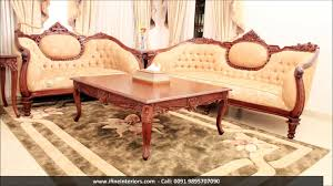 Wooden Sofa Designs 2016 Ifine Wooden Furniture Youtube