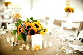 table centerpieces with sunflowers table centerpieces with sunflowers summer ideas sunflower