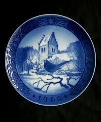 christmas plate royal copenhagen 1966 christmas plate ebay
