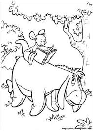 piglet coloring picture pooh beer piglets