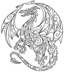 dragon smoke free printable coloring free printable