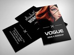 Makeup Business Cards Designs Make Your Own Business Card From 20 000 Designs Bizcardstudio Com