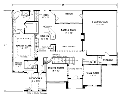 european style house plan 4 beds 3 00 baths 2978 sq ft plan 20 286