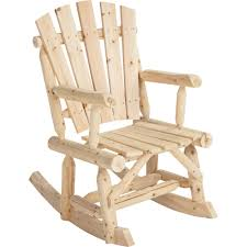 Rocking Chair Stonegate Designs Log Adirondack Rocking Chair U2014 Model T 24n339mb