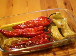 cuisine grecque recette poivron farci à la féta cuisine grecque
