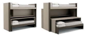 bureau gigogne bureau en stratifié contemporain avec lit gigogne pour enfant