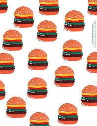 hamburger wrapping paper free printable hamburger wrapping paper free printables