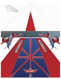 disney planes printable bulldog paper airplane craft disney