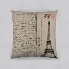 dream fun home decor decorative pillows accent sears dream fun home decor bonjour paris post cart decorative pillow