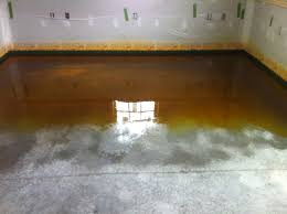 fancy stained concrete basement floor my most expensive basement