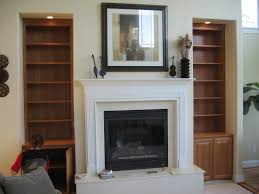 Shelf Decorating Ideas Living Room Living Room Interior Living Room White Cement Fireplace Built In