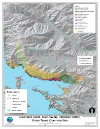 California Wildfire Fire Map by Wildfire Protection Plan