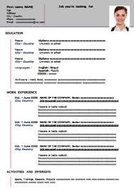 curriculum vitae formato europeo pdf da compilare online esempio di curriculum vitae da scaricare online e stare