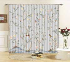 Bird Print Curtain Fabric Chinese Curtains Ebay