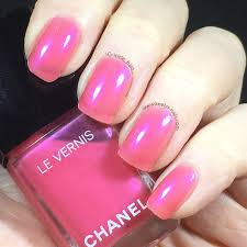 swatch chanel hyperrose glass 544 christmas 2016 keely u0027s nails