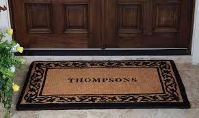 Long Doormats Double Door Mat Homesfeed