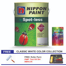 nippon paint spotless 5l classic white color collection 11street