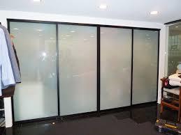 Sliding Glass Closet Door Top Mirror Sliding Closet Doors On Divider Closet Cover Sliding