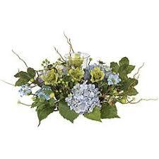 Silk Flower Centerpieces Hydrangea Silk Flower Centerpiece Arrangement Free Shipping