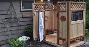 Simple Outdoor Showers - 21 simple outdoor shower ideas photo home art decor 37638