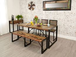 Dining Room Bench Sets Gorgeous Dining Table Set With Bench And Country Kitchen Fabulous