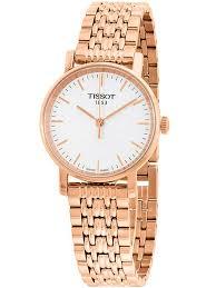 gold ladies bracelet watches images Tissot ladies rose gold plated bracelet watch t1092103303100 jpg