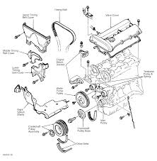 1997 mazda protege serpentine belt routing and timing belt diagrams