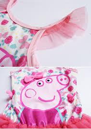 online shop peppa pig print cartoon cute kids one piece suits