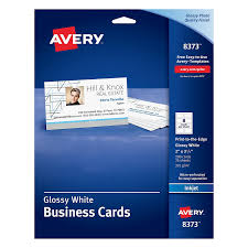 amazon com avery glossy photo quality business cards for inkjet