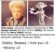 Elf Movie Meme - toby jones who plays claudius templesmith in the hunger games also
